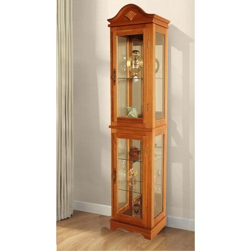 Jenlea Lighted Curio Cabinet by Jenlea