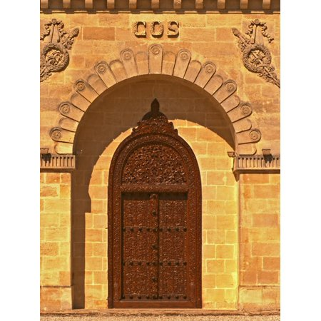 Entrance to Winery at Cos d'Estournel, Oriental Style, Saint St. Estephe, Medoc, Bordeaux, France Print Wall Art By Per Karlsson ()