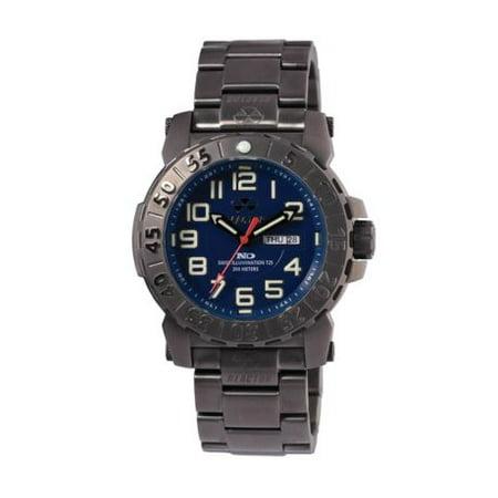 REACTOR Trident 2 Watch - Mens, Black / Navy Blue Dial, Dark Navy Blue Dial
