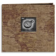 "Travel Post Bound Album 12""X12""-World Map"