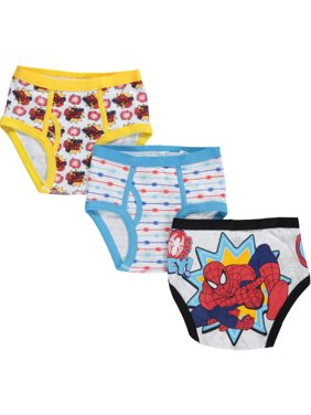 "Spider-Man Little Boys' ""Spider Justice"" 3-Pack Briefs (Sizes 4 - 7)"