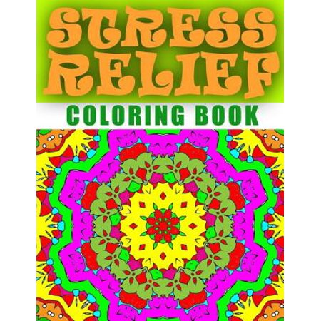 Stress Relief Coloring Book Volume 5 Adult Coloring Book
