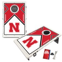 Nebraska Cornhuskers 2' x 3' BAGGO Vintage Cornhole Board Tailgate Toss Set - No Size