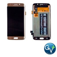 OEM Touch Screen Digitizer and AMOLED for Samsung Galaxy S6 Edge - Gold Platinum (SM-G925)