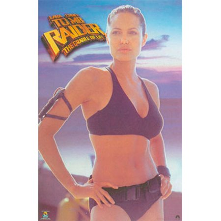 Tomb Raider 2 The Cradle Of Life Movie Poster Print Lara