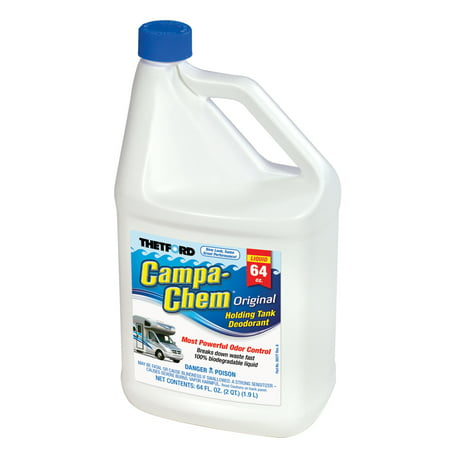 Campa-Chem RV Holding Tank Treatment - Deodorant / Waste Digester / Detergent - 64 oz - Thetford 28542