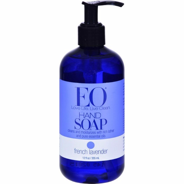 Eo Products Liquid Hand Soap French Lavender - 12 Fl Oz - image 1 de 1