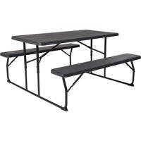 Peachy Picnic Tables Walmart Com Ibusinesslaw Wood Chair Design Ideas Ibusinesslaworg