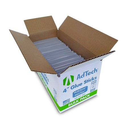 AdTech Bulk Box Multi-Temp Mini Hot Glue Sticks,4 (Best Hot Glue Sticks)