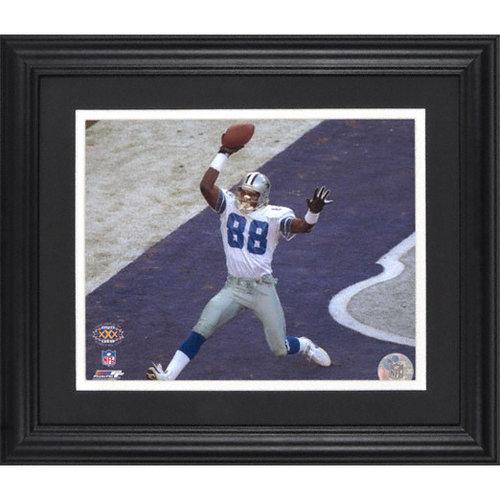 NFL - Michael Irvin Dallas Cowboys Super Bowl XXX Framed Unsigned 8x10 Photograph