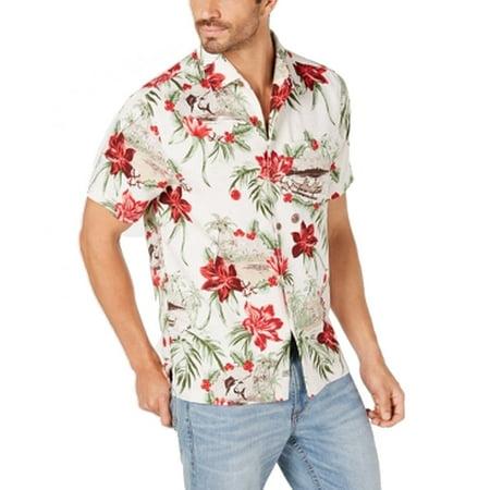 Honolulu Art Silk Short-Sleeve Shirt
