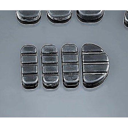 Kuryakyn 8083 Brake Pedal Pad Set (Kuryakyn Brake Pedal Pad)