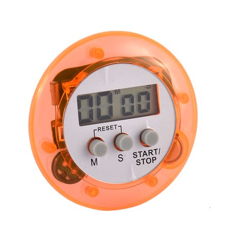 Kitchen Round Shape Mini Electronic Count Down Up LCD Digital Alarm Timer - image 3 de 3