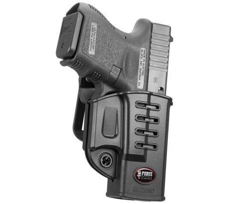 Fobus Evolution Glock Roto Belt Holster with Retention Adjustment Screw, Black, by