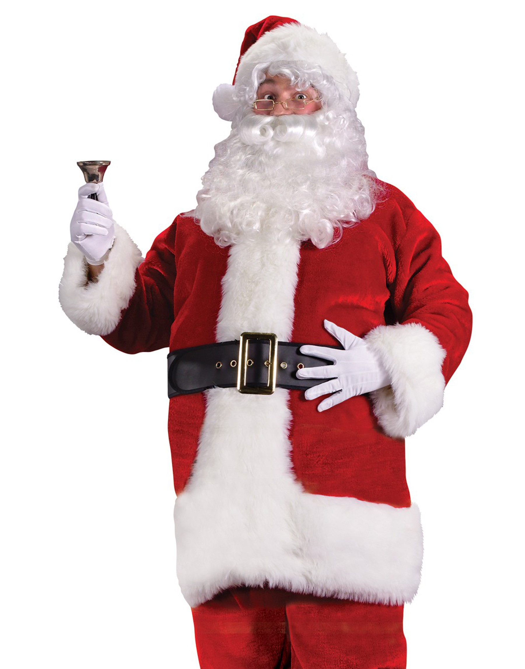 Plush Regency Christmas Santa Suit   Walmart.com