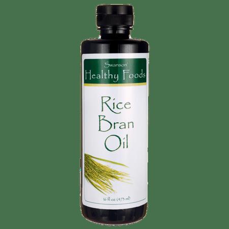 Swanson Rice Bran Oil 16 fl oz Liquid
