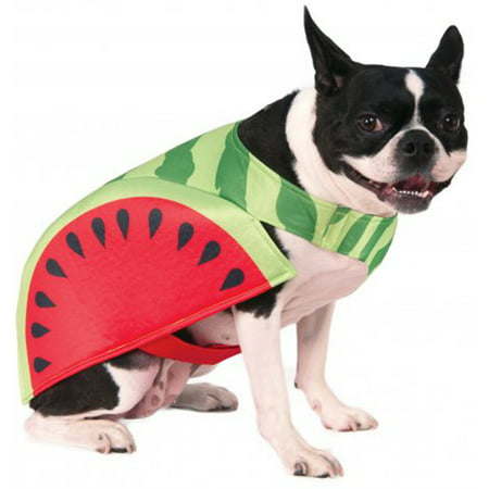 Watermelon Fruit Slice Funny Food Pet Dog Cat Halloween Costume - Halloween Inspired Fruit