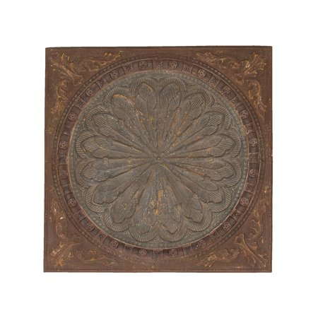 Artist Wall Decor With Byzantine Floral Design