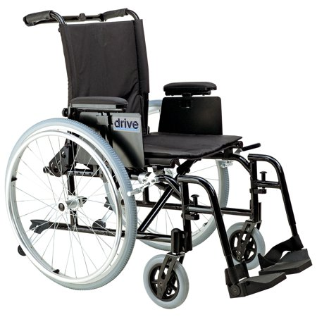 Drive Medical Cougar Ultra Lightweight Rehab Wheelchair, Swing away Footrests, 16