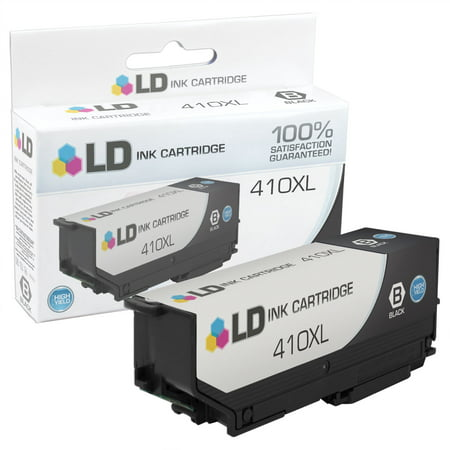 LD Compatible Ink Cartridge Replacement for Epson 410XL / Epson T410XL High Yield Black for use in Expression XP-530, Expression XP-630, Expression XP-635, Expression XP-640 & Expression (Epson T048520 Compatible Light)