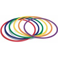 "19"" Spectrum Flat Hoops, Set of 6"
