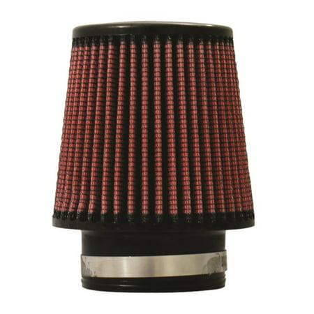 - Injen High Performance Air Filter - 3.00 Black Filter 6 Base / 5 Tall / 4 Top - 45 Pleat