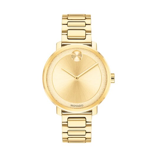 Movado Bold Gold-Tone Ladies Watch 3600502