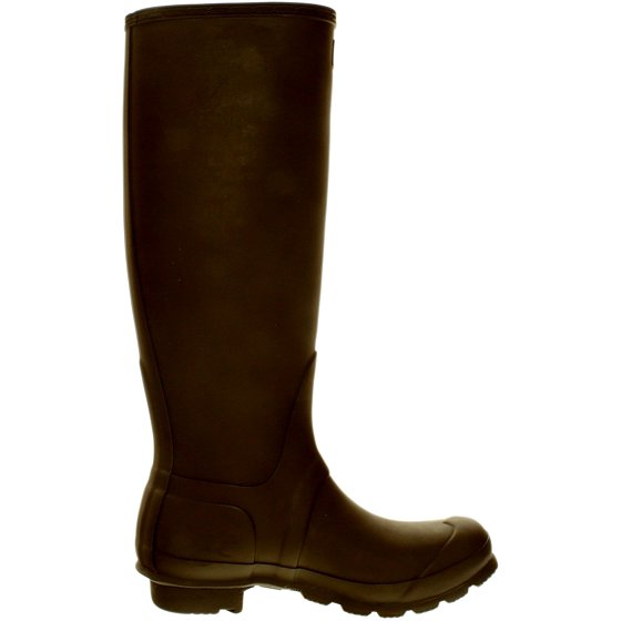e7ffe09db761 ... outsole offers stability for safe travel across rough or slippery  terrain. Hunter Women s Original Tall Bitter Chocolate Knee-High Rubber Rain  Boot - 7M