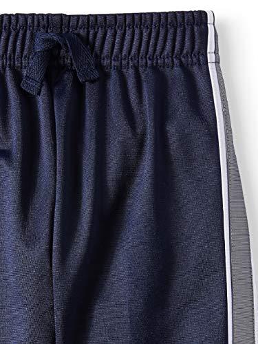 Garanimals Toddler Boy Solid Tricot Tape Athletic Pants Sweatpants (Blue, 5t)