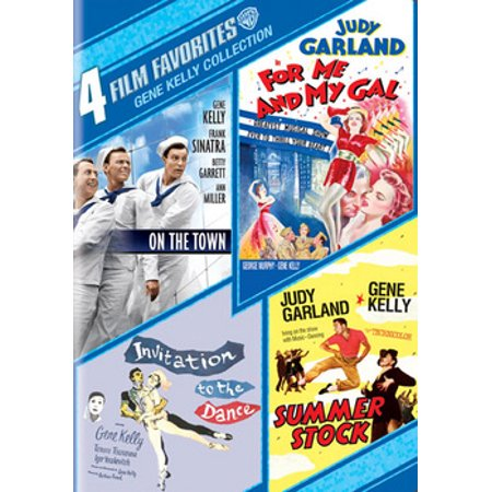 4 Film Favorites: Gene Kelly Collection (DVD) (Music D'halloween Le Film)