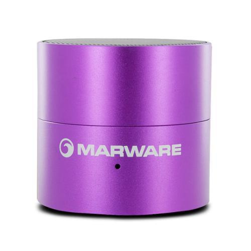 Marware UpSurge Portable Mini Rechargeable Speaker (Purple) - MASR1036