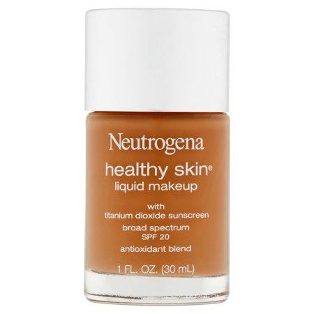 Neutrogena Healthy Skin Liquid Makeup Foundation Broad Spectrum Spf 20 115 Cocoa -1oz