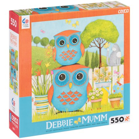 Debbie Mumm Bird - Ceaco Debbie Mumm Owl Puzzle, 550 pc