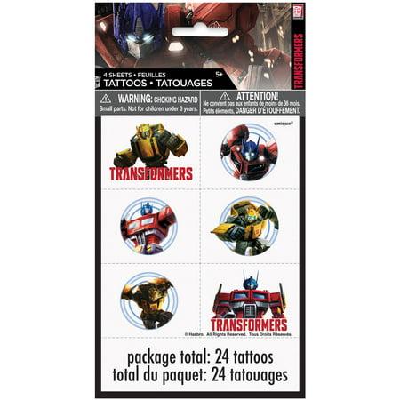 Transformers Temporary Tattoos, 24ct - Transformers Birthday