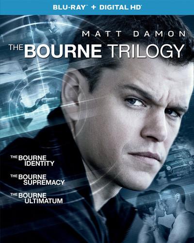 The Bourne Trilogy (Blu-ray + Digital Copy)