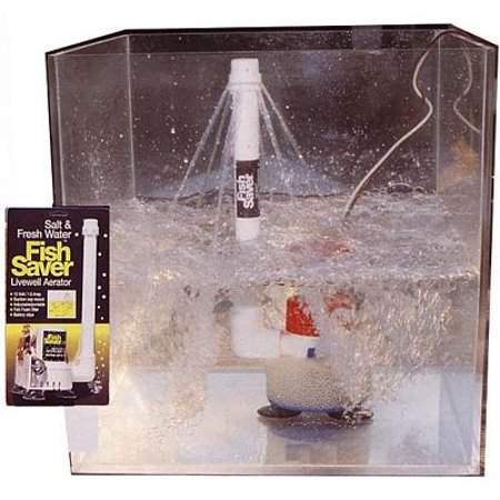 Fish Saver (Marine Metal Fish Saver Livwel W/Adj Spray )