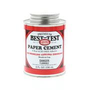 Best-Test Paper Cement, 8 oz.