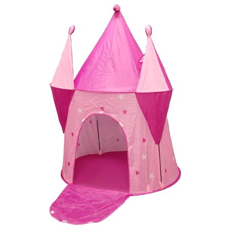 POCO DIVO Fairy Palace Princess Castle Girls Play Tent Pink Dream House - Girl Teepee