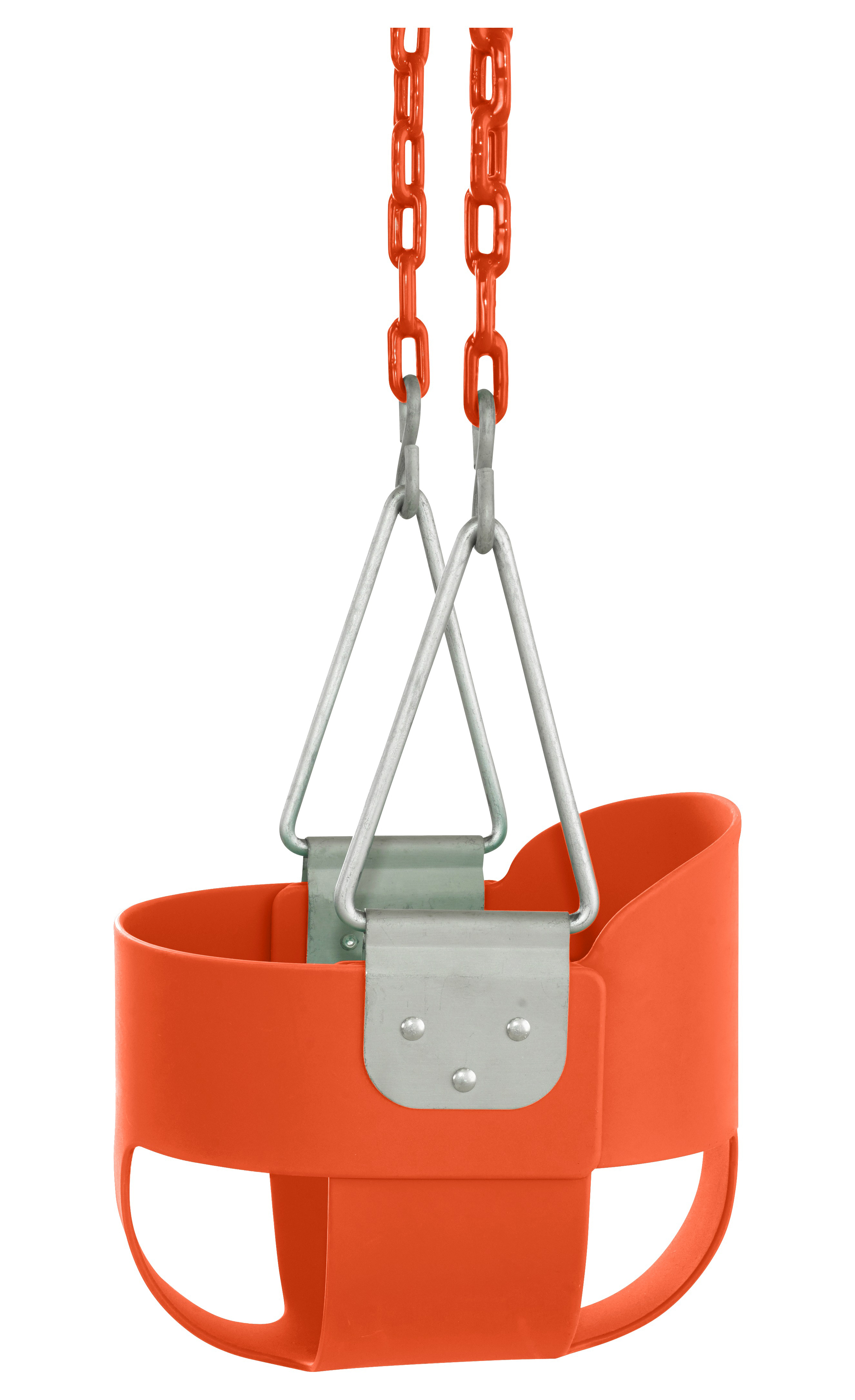 Swingan High Back Full Bucket Toddler & Baby Swing with Vinyl Coated Chain Fully Assembled Baby Products