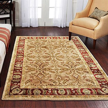 Better homes and gardens karachi bisque area rug walmartcom for Better home and garden rugs