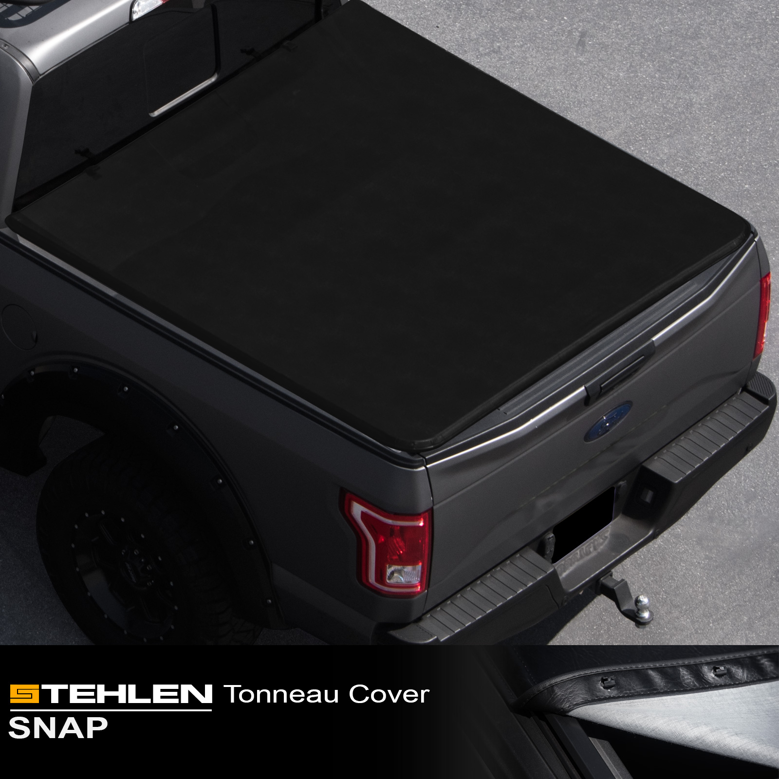For 1988-2000 CHEVY//GMC C10 C//K Series 6.5/' FT Bed Lock Tri-Fold Soft Tonneau Co