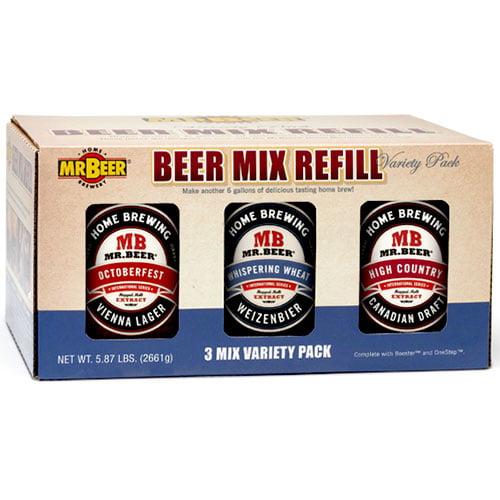 Mr. Beer 3-Beer Mix Variety Pack, International Series