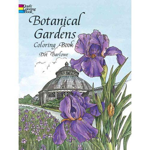 Botanical Gardens Coloring Book