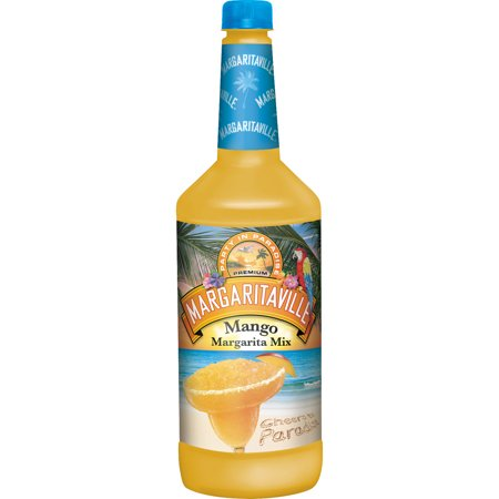 Margaritaville Mango Margarita Mix, 1 L Bottle, 6 Count (Mango Margarita Recipe)