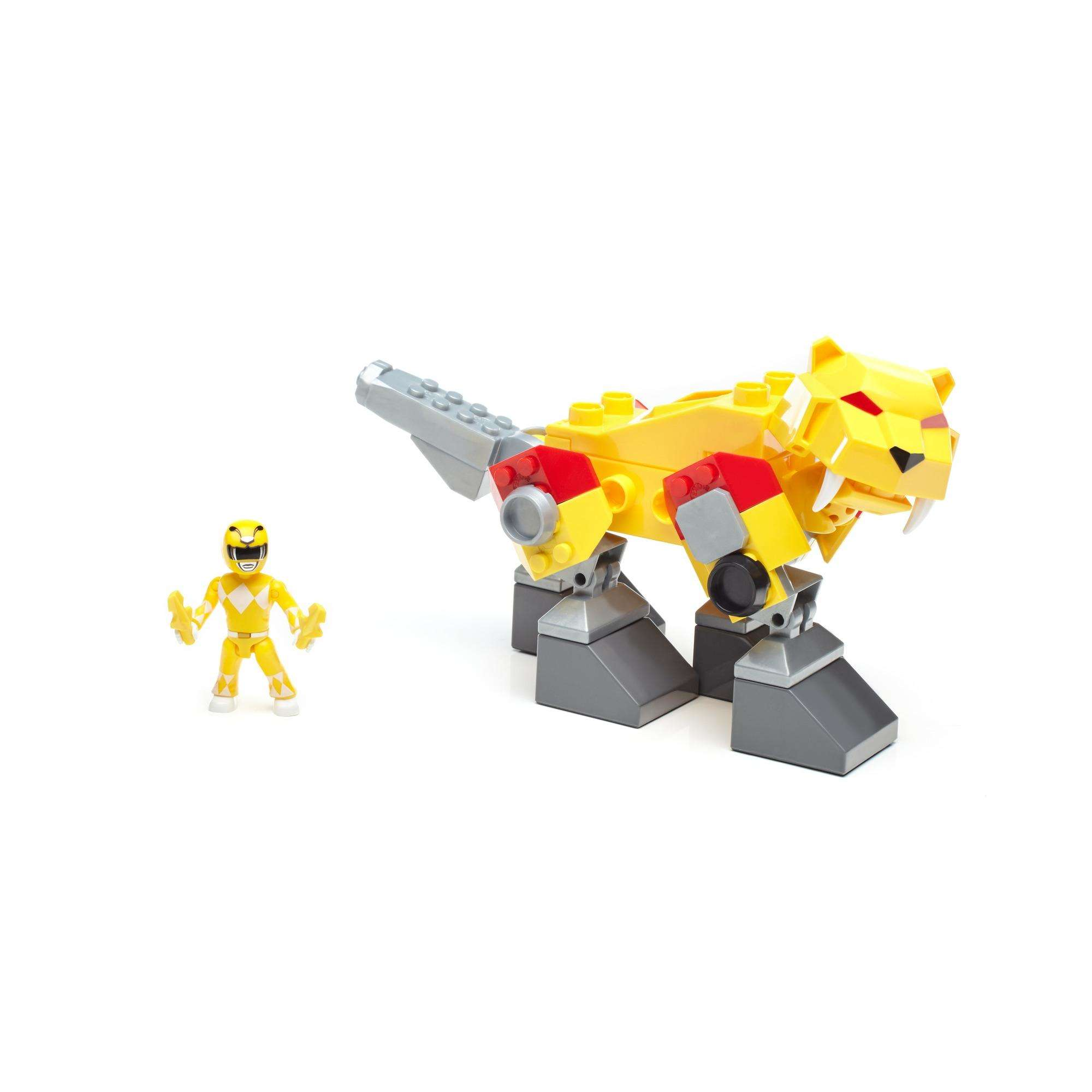 Mega Construx Power Rangers Sabertooth Zord by Mattel