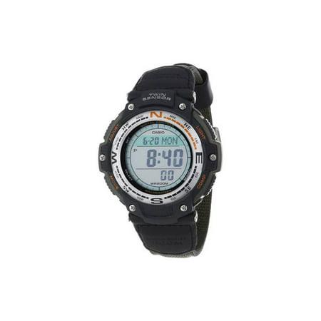 Temp Compass Mens Watch - Casio Men's Digital Compass Twin Sensor Sport Watch