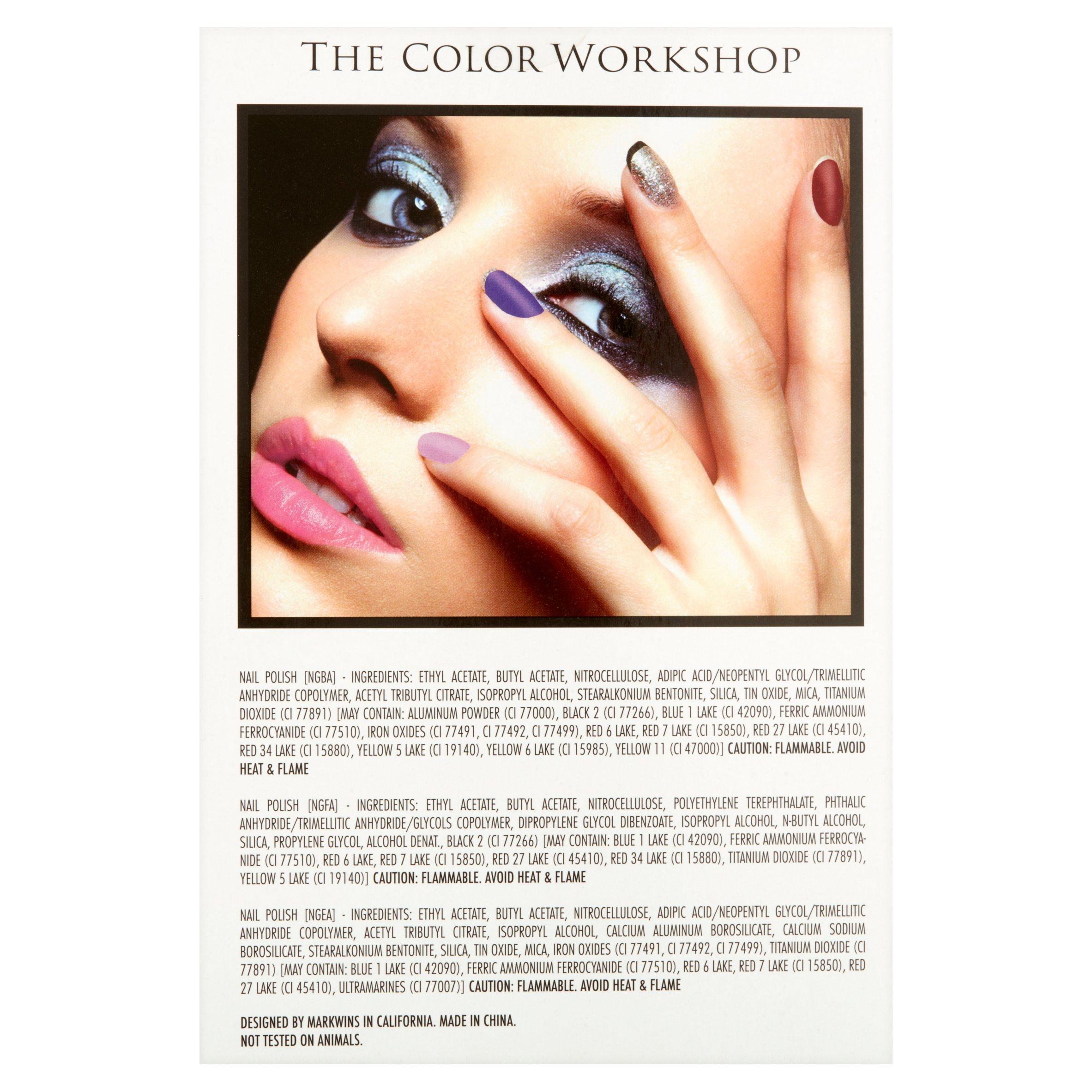 The Color Workshop Nail Polishes, 12 count, 1.06 fl oz - Walmart.com