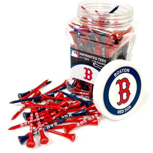 Team Golf MLB Boston Red Sox Jar Of 175 Golf Tees