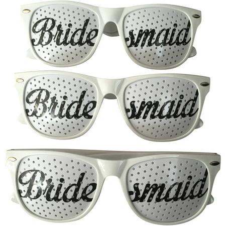 Bridesmaids Wedding Party Sunglasses, Set of - Wedding Sunglasses Bulk