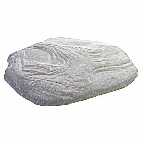 Luna Stepping Stone, Light Granite, 4 Pack